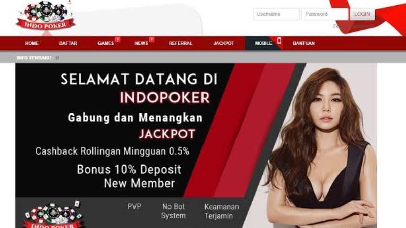 IndoPoker – Bandar Poker Online Terpercaya
